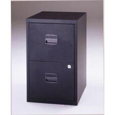 A4 Home Filer 2 Drawer Filing Cabinet