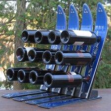 Snow 12 Bottle Tabletop Wine Rack