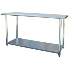 Wayfair Basics Stainless Steel Top Workbench