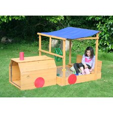 110 cm x 110 cm rechteckiger Sandkasten Choo Choo Train