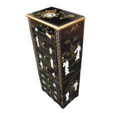 Mother of Pearl Jewellery Armoire