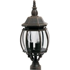 Crown Hill Outdoor 3-Light Lantern Head