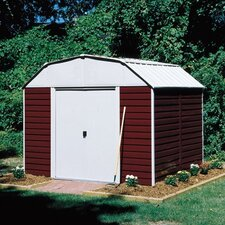 Barn 10 ft. W x 8 ft. D Metal Storage Shed