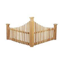 2.5' x 4' Cedar Corner Fence