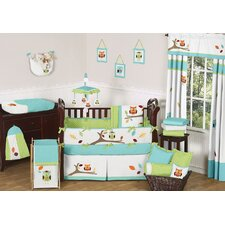 Hooty 9 Piece Crib Bedding Set