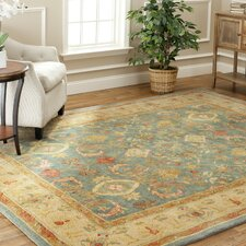 Anatolia Light Blue & Ivory Area Rug