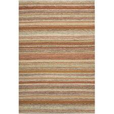 Striped Kilim Beige Area Rug