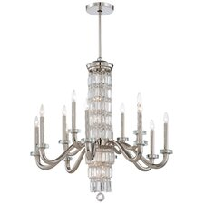 Crysalyn Falls 18-Light Crystal Chandelier