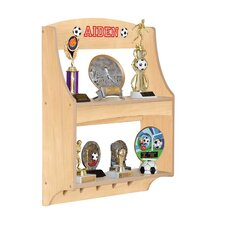 Personalized Expressions Trophy Rack Floating Shelf