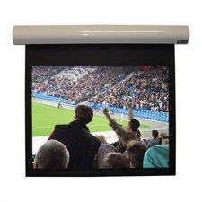 Lectric I Matte Black Electric Projection Screen
