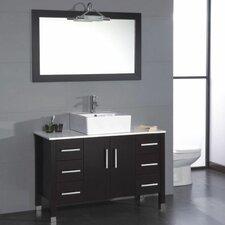"Magnolia 47"" Single Bathroom Vanity Set with Mirror"