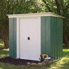 8 Ft. x 4 Ft. Metal Lean-To Shed