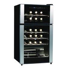 29 Bottle Dual Zone Freestanding Wine Cooler