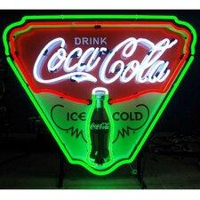 Coca-Cola Ice Cold Shield Neon Sign