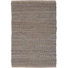 Natural Fiber Medium Gray Area Rug