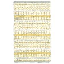 Dhurry Yellow/Gray Area Rug