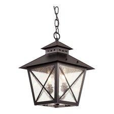 Chimney Vented 2-Light Outdoor Hanging Lantern
