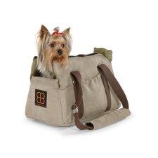 Velvet Bitty Bag Pet Carrier