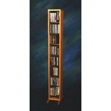 800 Series 112 CD Dowel Multimedia Storage Rack