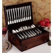Bristol Mahogany Silverware Chest with Brown Lining