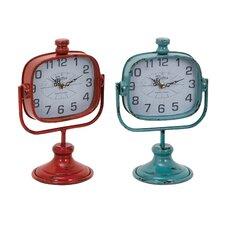 Durable Metal Clock (Set of 2)