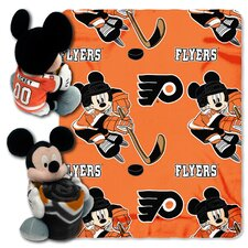 NHL Mickey Mouse Throw