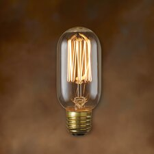 Nostalgic 40W Incandescent Light Bulb (Set of 5)