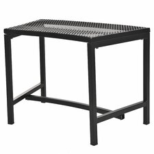 Bravo Metal Mesh Fire Pit Bench
