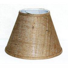 """12"""" Burlap Fabric Empire Lamp Shade"""