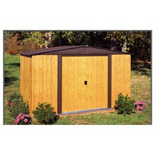 Woodlake 10 ft. W x 8 ft. D Metal Storage Shed