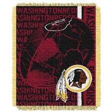 NFL Washington Redskins Triple Woven Jacquard Throw Blanket