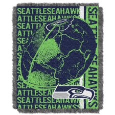 NFL Seattle Seahawks Triple Woven Jacquard Throw Blanket