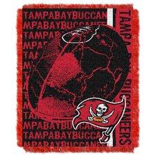 NFL Tampa Bay Buccaneers Triple Woven Jacquard Throw Blanket