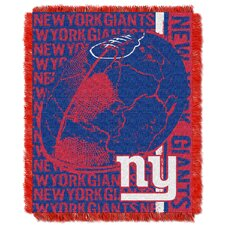 NFL New York Giants Triple Woven Jacquard Throw Blanket