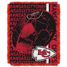 NFL Kansas City Chiefs Triple Woven Jacquard Throw Blanket
