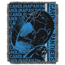 NFL Carolina Panthers Triple Woven Jacquard Throw Blanket
