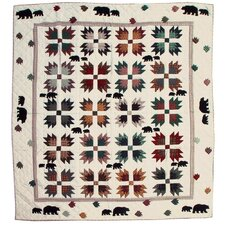Bear Trail Coverlet Collection