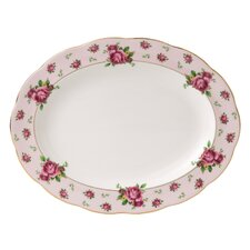 New Country Roses Formal Vintage Oval Platter