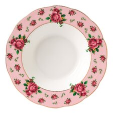 New Country Roses Formal Vintage Rim Soup and Salad Bowl