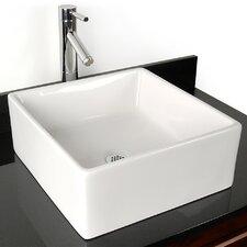 Grenada China Rectangular Vessel Bathroom Sink