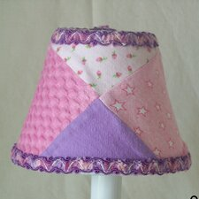 "Grandma's Quilt 5"" Fabric Empire Candelabra Shade"