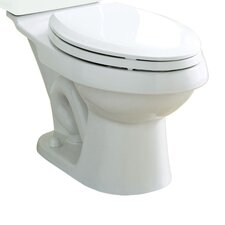 Dual Force Dual Flush Elongated Toilet Bowl Only