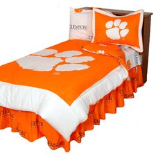 NCAA Clemson Reversible Comforter Set