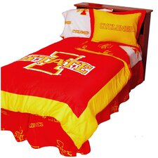 NCAA Iowa State Reversible Comforter Set