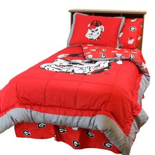 NCAA Georgia Bedding Comforter Collection