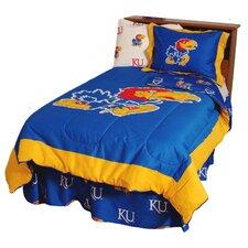 NCAA Kansas Bedding Comforter Collection