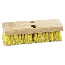 "10"" Polypropylene Deck Brush Head"
