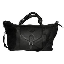 "NBA 25"" Leather Top Zip Travel Duffel"