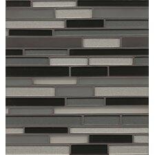 Manhattan Random Sized Glass Mosaic Tile in Wall Street