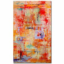 """Odessy"" by Pat Saunders-White Framed Painting Print on Wrapped Canvas"